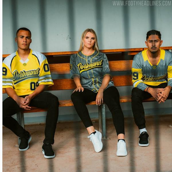 Dortmund U.S. Sport Jersey Kollektion veröffentlicht - Nur Fussball