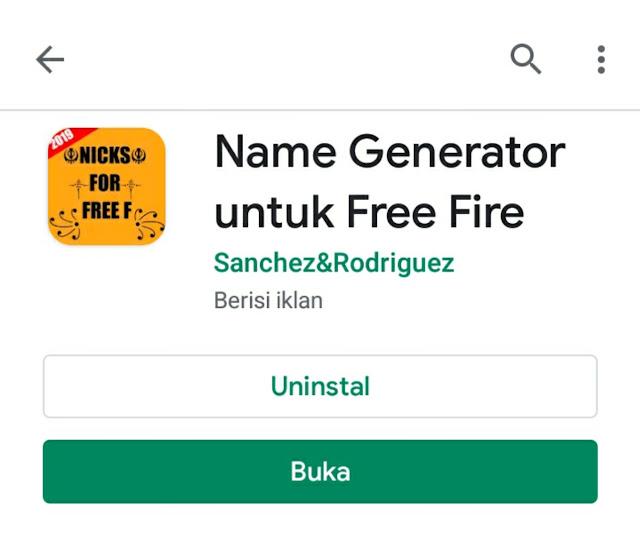 aplikasi pembuat nickname free fire