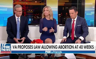 'Fox and Friends' host fights back tears discussing Virginia's 40-week abortion bill