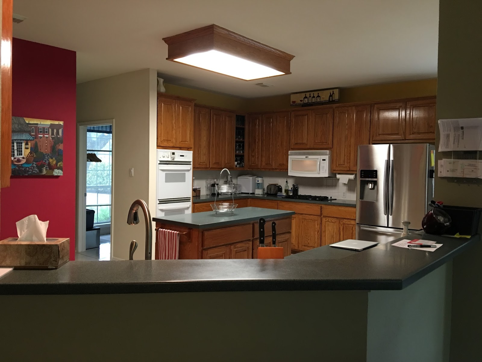 Talking For Free: Kitchen Remodel Before and After Photos