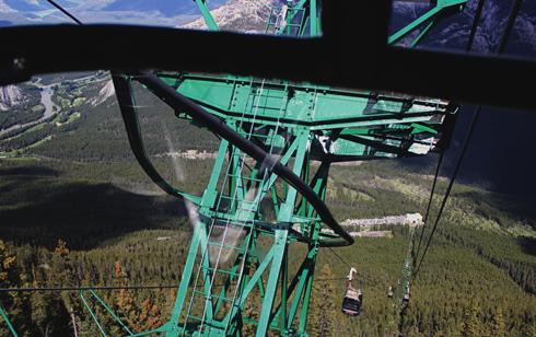 Banff Gondola Sulphur Mountain Alberta