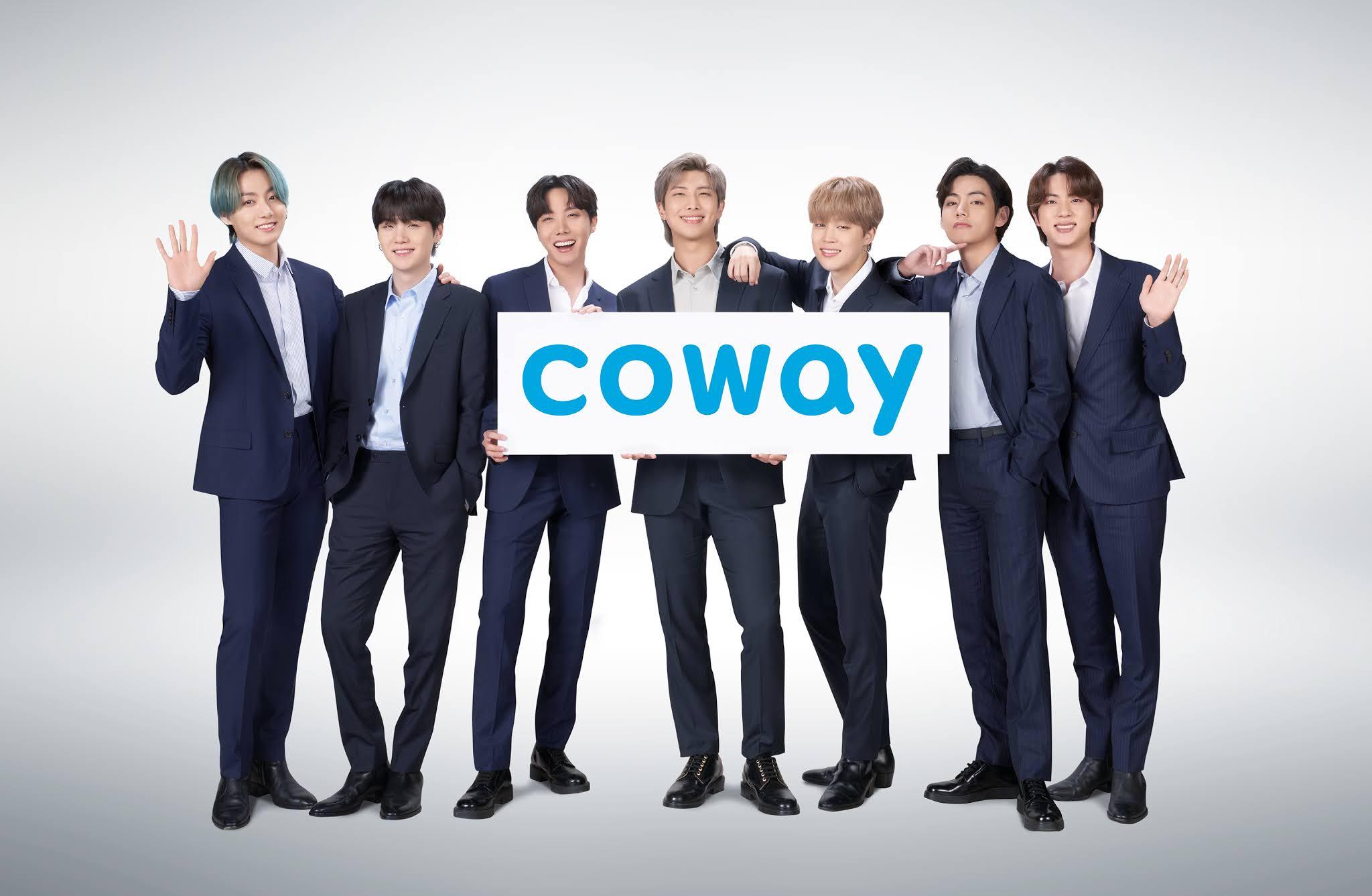 Coway Memilih BTS Sebagai Duta Jenama Global