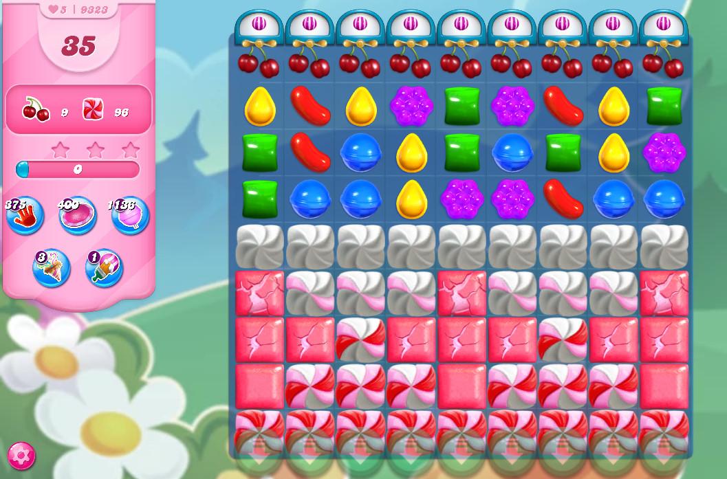 Candy Crush Saga level 9323