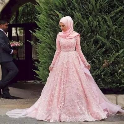 Anggun Bak Ratu! Intip Deretan Gaun Pengantin Hijab Modern Yang Mewah Dan Elegan