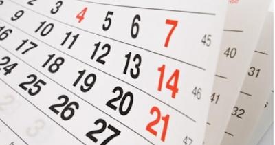 Governo de Alagoas divulga calendário com feriados previstos para  2021 no Estado
