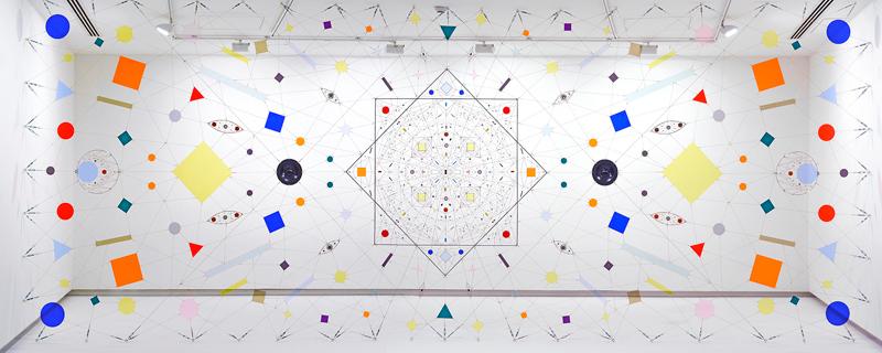 Mandalas electrónicos de Leonardo Ulian