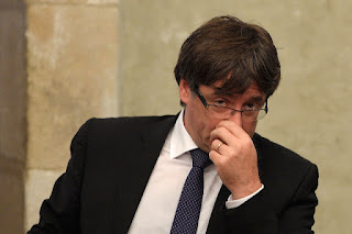 Catalonia's deposed leader Carles Puigdemont