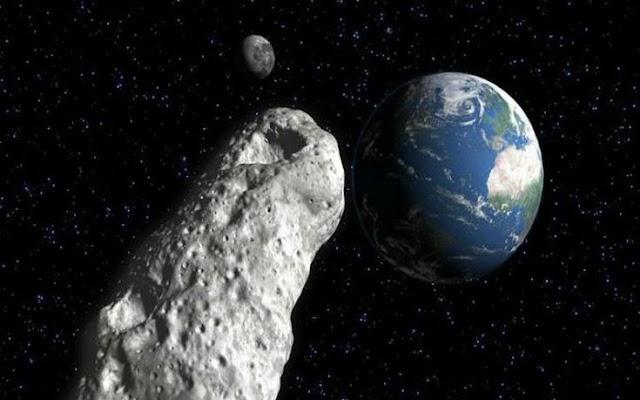 Αστεροειδής δυο φορές μεγαλύτερος από το ψηλότερο κτίριο του κόσμου θα περάσει κοντά στη Γη τον Μάρτιο