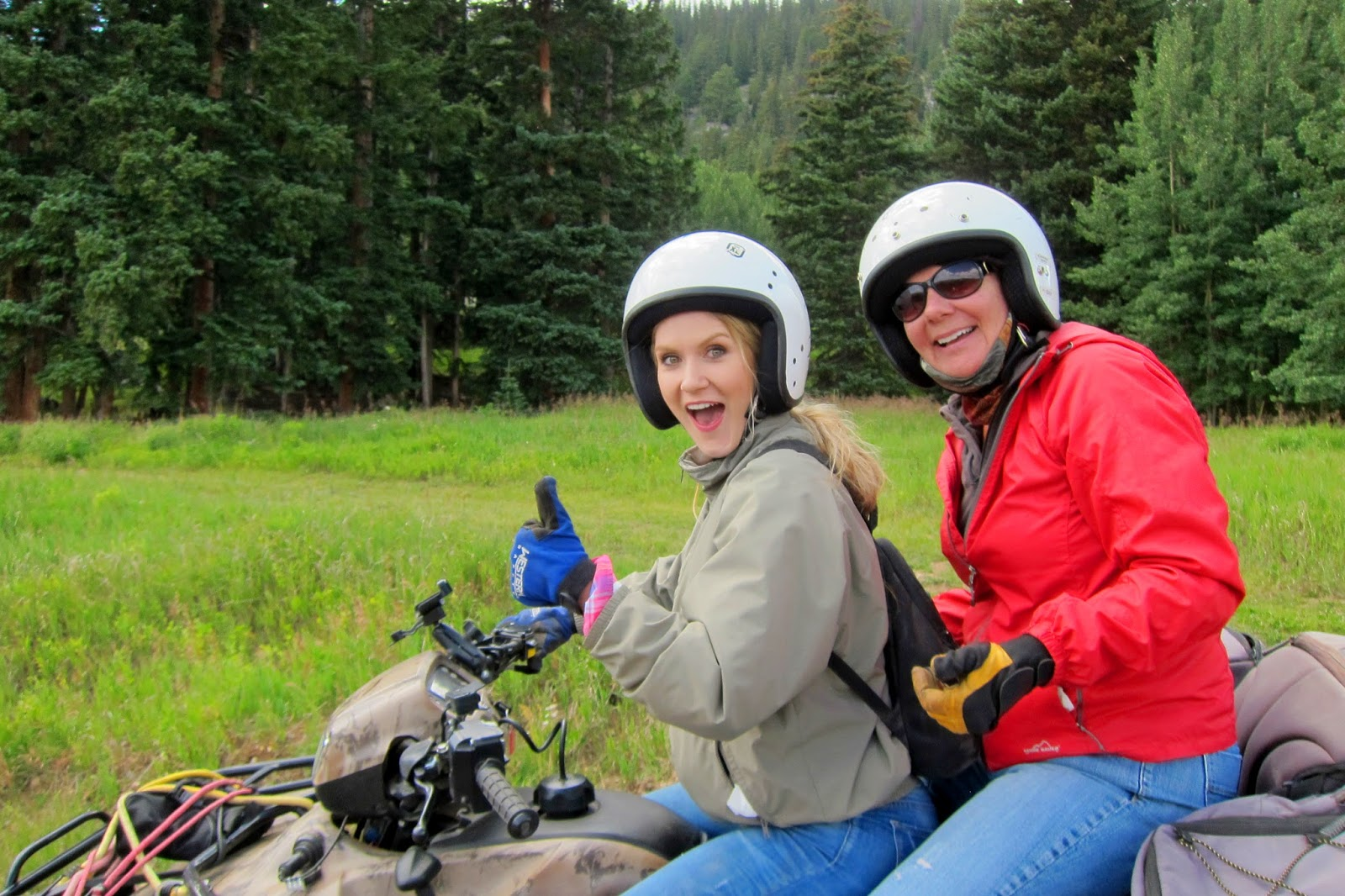 Super fun ATV ride in Colorado. Click through to see all the beautiful views!
