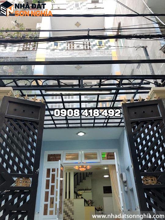 Nhà Gò Vấp đường Bùi Quang Là phường 12