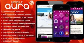 Aura responsive Premium Mobile Theme Aura