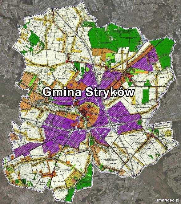Plan Zagospodarowania Miasta I Gminy Strykow