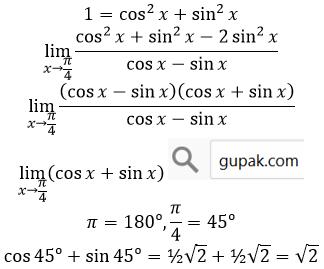 jawab limit trigonometri