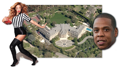 Beyonce And Jay Z New House Largest Home In California?