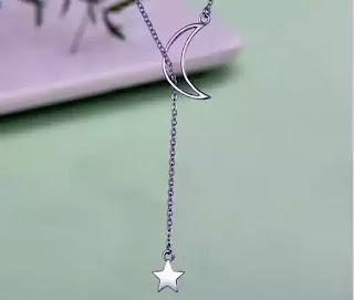 Colier din argint Silver Star & Moon Edenboutique pareri forum preturi