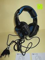 Erfahrungsbericht: LIHAO Sades SA-738 Spiel Kopfhörer Stereo USB Gaming Headset mit Mikrofon Blau LED Leuchte mit Sades Retail Geschenk Verpackung