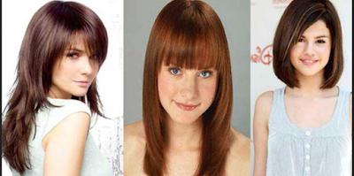 model rambut wanita sesuai bentuk wajah dan postur tubuh