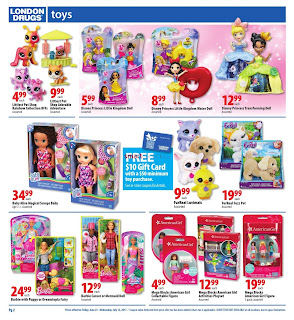 London Drugs Summer Toy Savings valid June 23 - July 12, 2017