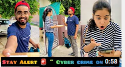 ಯೂಟ್ಯೂಬ್ ನಲ್ಲಿ ಟ್ರೆಂಡಿಂಗ್ ನಲ್ಲಿದೆ Stay Alert ⚠️ ~ Cyber Crime on Rise 💻- ಎರಡು ದಿನದಲ್ಲಿ 10 ಮಿಲಿಯನ್ views