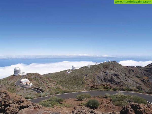 El Cabildo abre el tramo de la carretera del Roque de Los Muchachos que permanecía cerrado