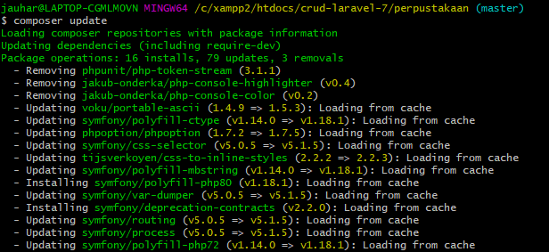 Tutorial Upgrade ke Laravel 8