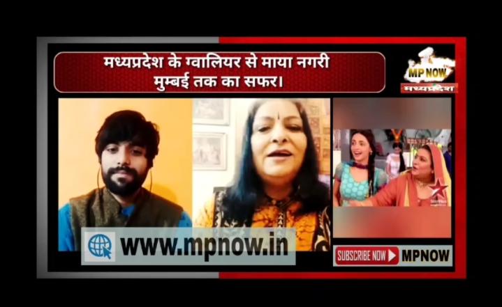 टीवी एक्ट्रेस आभा परमार के साथ एक्सक्लूसिव बातें AD SAHU के साथ