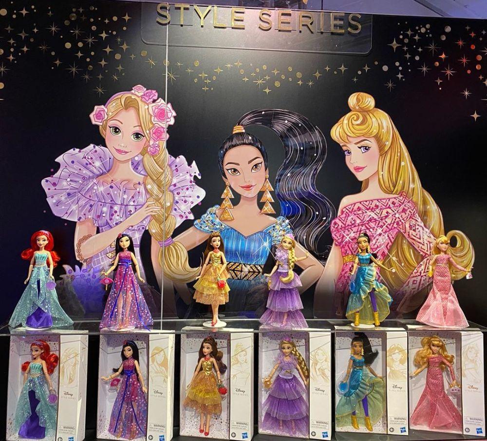 Новинки игрушек 2020 куклы Disney Princess Style Series