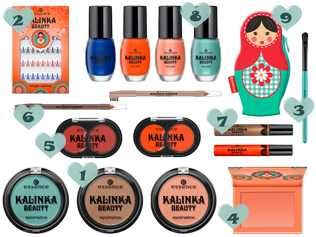 Preview - essence Kalinka Beauty - limitierte Kollektion (LE) - Januar 2014