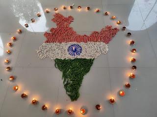 एक दीया देश के नाम कार्यक्रम में लोगों ने जलाया एक—एक दीप | #NayaSaberaNetwork