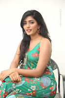 Actress Eesha Latest Pos in Green Floral Jumpsuit at Darshakudu Movie Teaser Launch .COM 0148.JPG