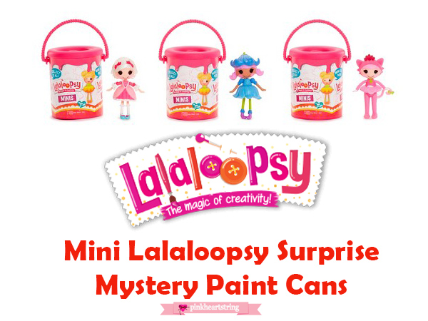 Mini Lalaloopsy Surprise Mystery Paint Cans