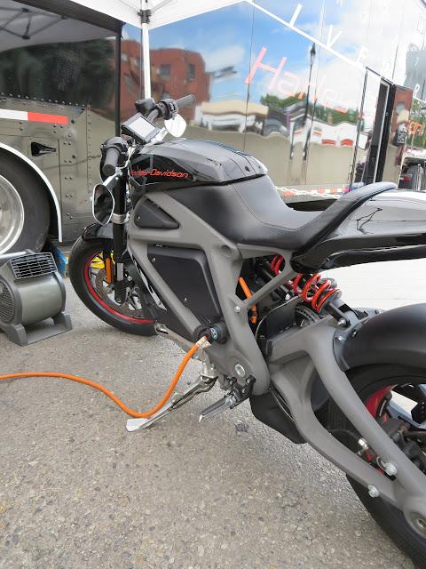 Harley-Davidson LiveWire Charging
