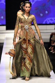 Baju Kebaya Kombinasi Batik