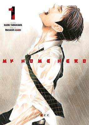 Manga: Review de My Home Hero Vol.1 de Naoki Yamakawa y Masashi Asaki - ECC Ediciones