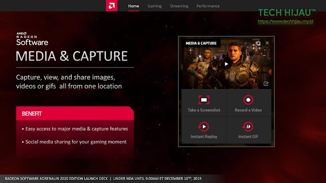 Tech Hijau™ — AMD Radeon Software Adrenalin 2020 Edition - Media & Capture