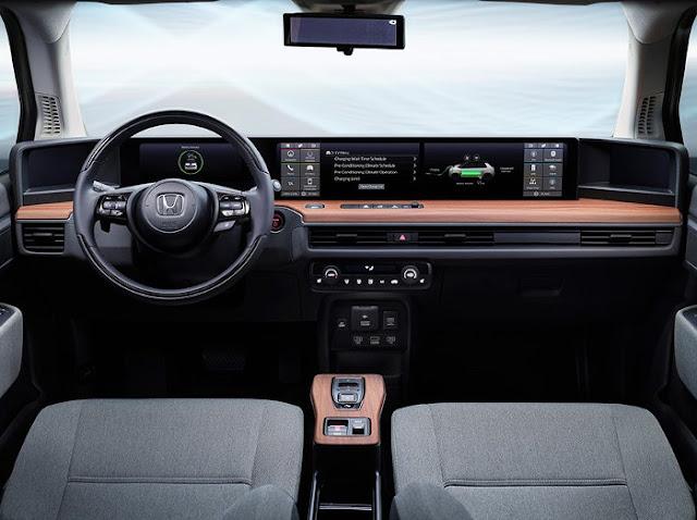 Elegan - Prototipe Mobil Listrik Honda E