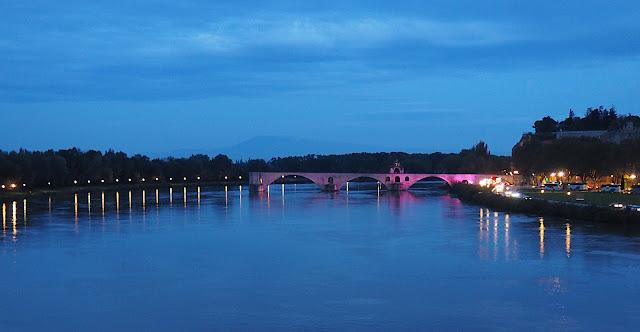 Авиньон, мост Сен-Бенезе (Avignon, Saint-Benese Bridge)