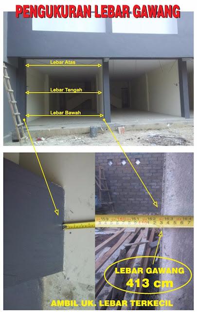 Cara Pemasangan Pintu Lipat Garasi Rumah Minimalis gambar1
