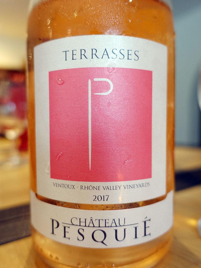 Château Pesquié Terrasses Rosé 2017 (88 pts)