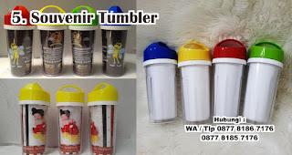 Souvenir Tumbler merupakan salah satu souvenir kelahiran anak yang unik dan bermanfaat