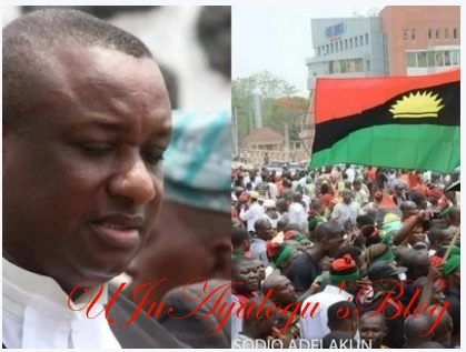 Your leaders will turn you to slaves - Festus Keyamo warns Biafra agitators
