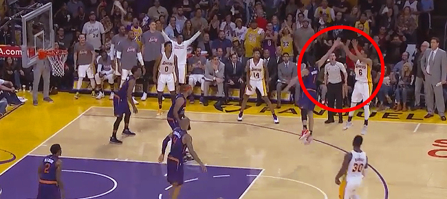Jordan Clarkson's CLUTCH Three Against Phoenix Suns (VIDEO)