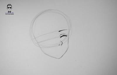 كيفية رسم انمي بالحجاب خطوة بخطوة