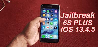 iPhone 6S Plus Jailbreak iOS 13.4.5 One Click.