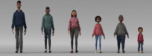 Pixar Soul Garment Tests at SIGGRAPH