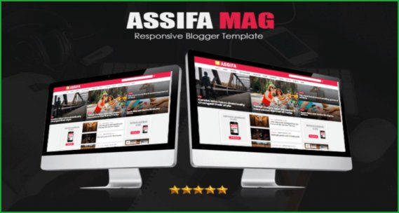 Assifa-Mag-blogger-template