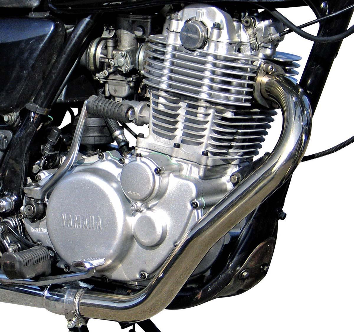 Yamaha SR400 Engine Decompression