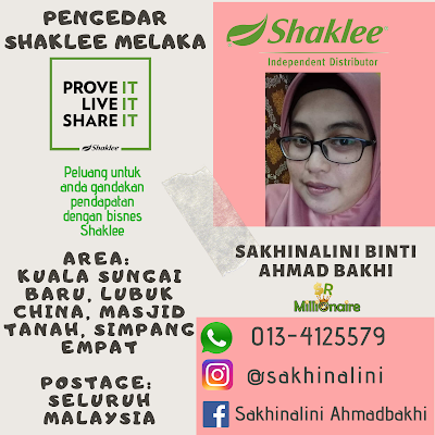 Pengedar Shaklee Kuala Sg Baru Melaka