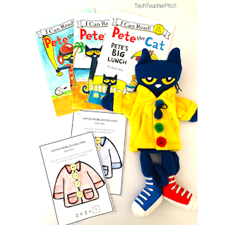 Using picture books to introduce maths problem solving to little learners. Free teaching download available for subscribers.