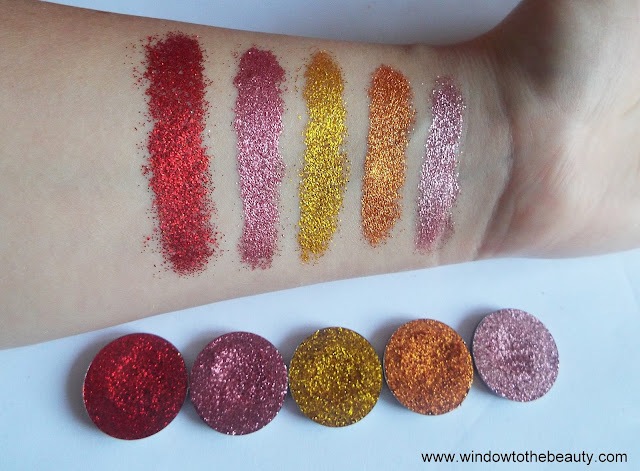 Revolution pro Glisten here swatch